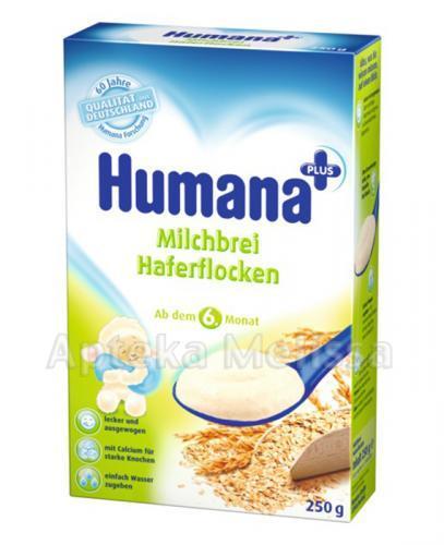 HUMANA Kaszka mleczna z płatkami owsianymi - 250 g - Apteka internetowa Melissa