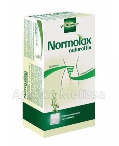 NORMOLAX NATURAL FIX (FIGURA 2) - 20 sasz. - Apteka internetowa Melissa