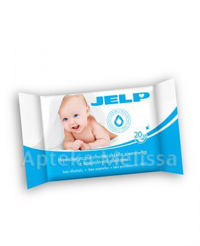JELP Hipoalergiczne chusteczki dla niemowląt - 20 szt.  - Apteka internetowa Melissa