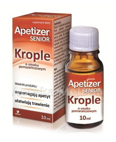 APETIZER SENIOR Krople - 10 ml - Apteka internetowa Melissa
