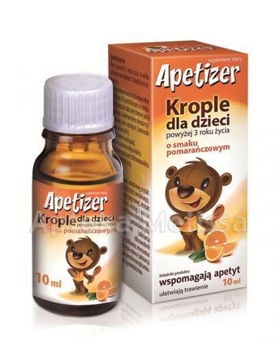 APETIZER Krople dla dzieci - 10 ml  - Apteka internetowa Melissa