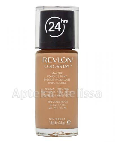 REVLON COLORSTAY Podkład do twarzy do cery normalnej i suchej 180 sand beige - 30 ml - Apteka internetowa Melissa