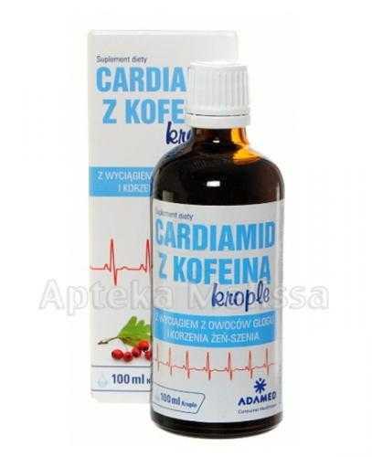 CARDIAMID Z KOFEINĄ Krople - 100 ml