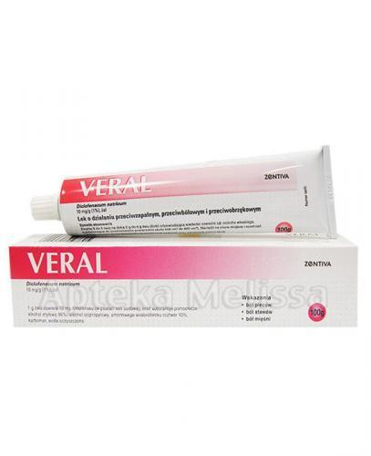 VERAL Żel 10 mg/1 g - 100 g - Apteka internetowa Melissa