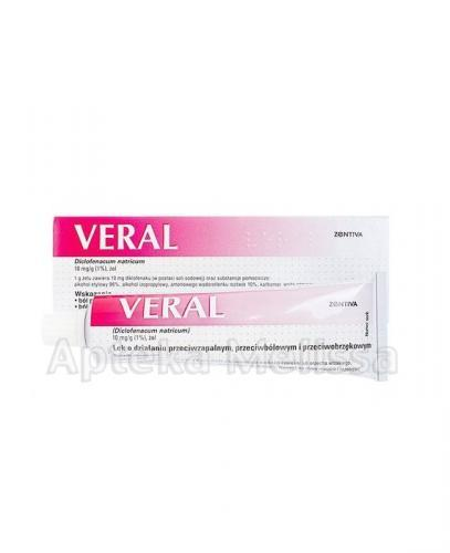 VERAL Żel 10 mg/1 g - 55 g - Apteka internetowa Melissa