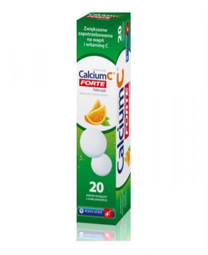 CALCIUM Forte - 20 tabl. mus.