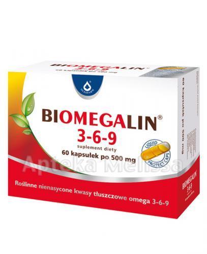 BIOMEGALIN 3-6-9 500 mg - 60 kaps. - Apteka internetowa Melissa