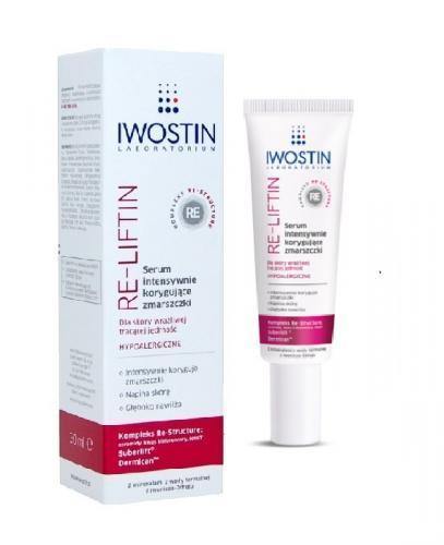 IWOSTIN RE-LIFTIN Serum intensywnie korygujące zmarszczki - 30 ml  - Apteka internetowa Melissa