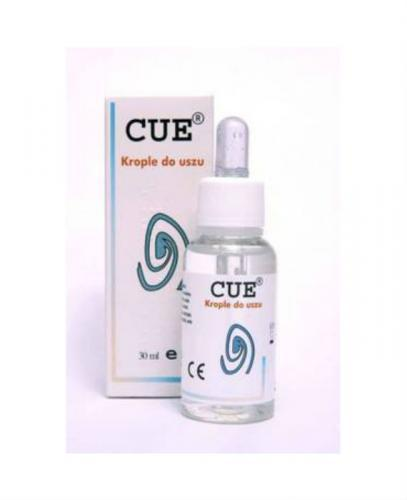 CUE Krople do uszu - 30 ml - Apteka internetowa Melissa