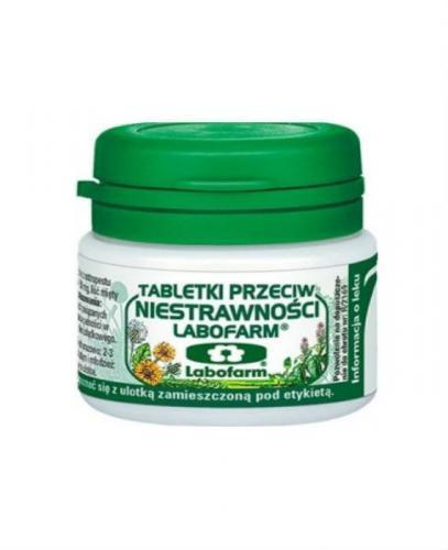 LABOFARM Tabletki przeciw niestrawności - 20 tabl. - Apteka internetowa Melissa