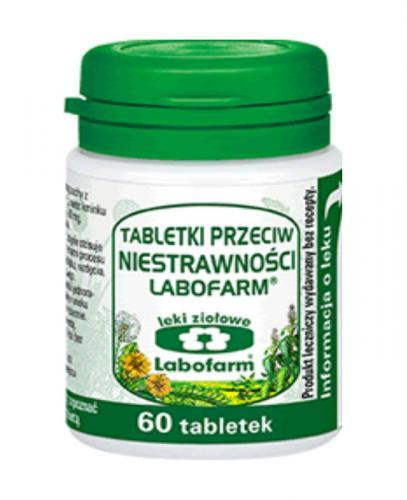 LABOFARM Tabletki przeciw niestrawności - 60 tabl.
