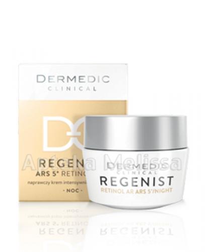 DERMEDIC REGENIST ARS5 Naprawczy krem intensywnie regenerujący na noc - 50 ml - Apteka internetowa Melissa