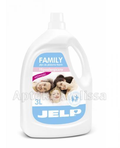 JELP FAMILY Płyn do płukania tkanin - 3 l - Apteka internetowa Melissa