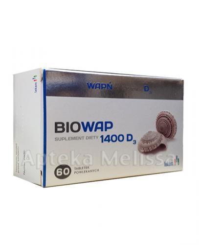 BIOWAP 1400 D3 - 60 tabl. - Apteka internetowa Melissa