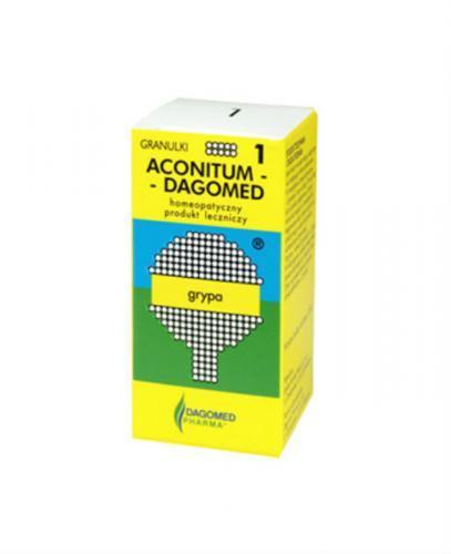 DAGOMED nr 1 Aconitum, grypa - 7 g - Apteka internetowa Melissa