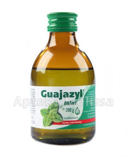 GUAJAZYL MINT Syrop - 160 ml - Apteka internetowa Melissa