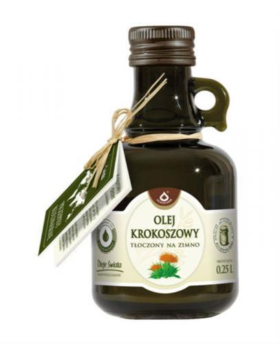 OLEOFARM Olej krokoszowy - 250 ml - Apteka internetowa Melissa