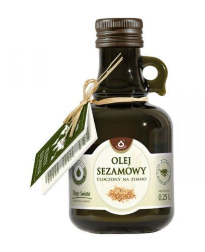 Olej sezamowy - 250 ml - Apteka internetowa Melissa