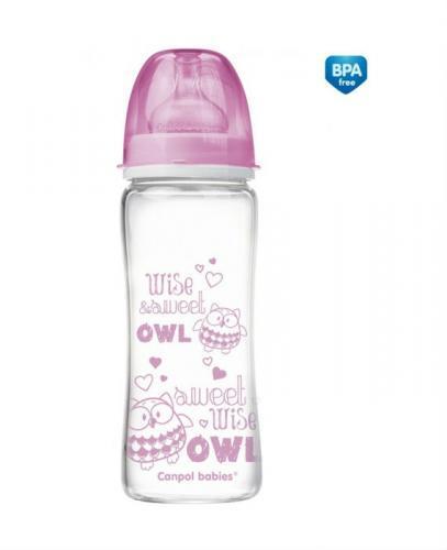 CANPOL Antykolkowa szklana butelka EasyStart 79/003 330 ml - 1 szt. - Apteka internetowa Melissa