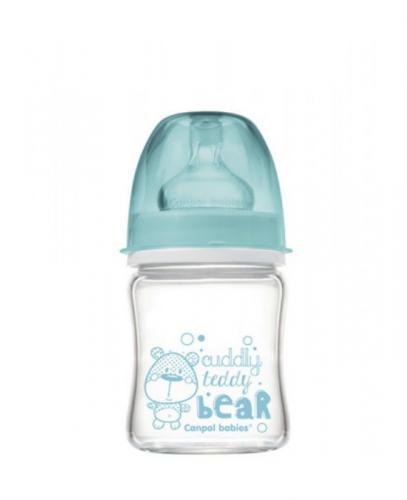 CANPOL Antykolkowa szklana butelka EasyStart 120 ml 79/001 - 1 szt. - Apteka internetowa Melissa