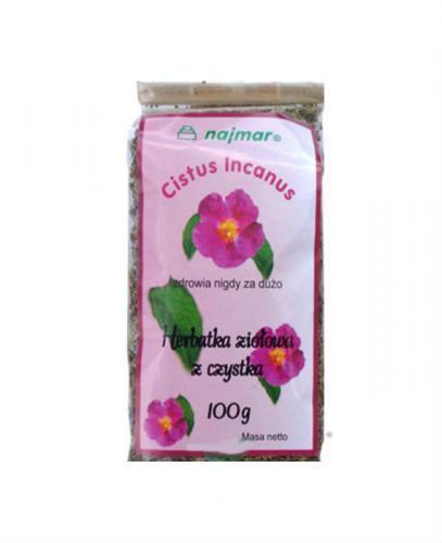 CZYSTEK Herbtka ziołowa - 100 g - Apteka internetowa Melissa