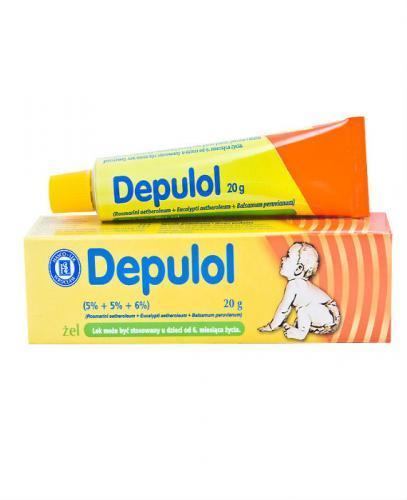 DEPULOL (Pulneo) Żel - 20 g - Apteka internetowa Melissa