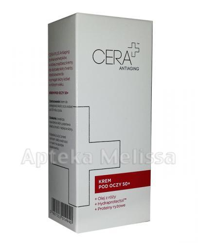 CERA PLUS ANTIAGING Krem pod oczy 50+ - 15 ml - Apteka internetowa Melissa