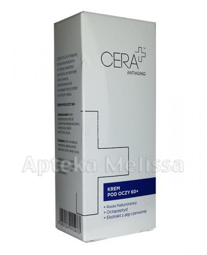 CERA PLUS ANTIAGING Krem pod oczy 60+ - 15 ml - Apteka internetowa Melissa