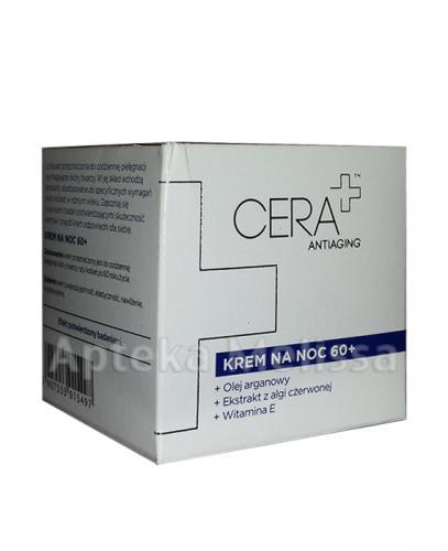 CERA PLUS ANTIAGING Krem na noc 60+ - 50 ml