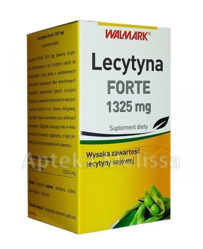 WALMARK LECYTYNA FORTE 1325 mg - 60 kaps. - Apteka internetowa Melissa