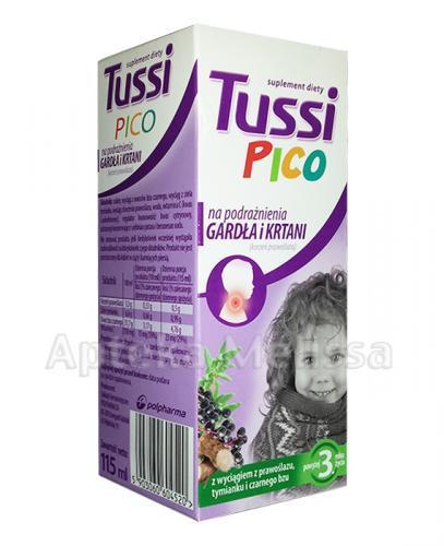 TUSSIPICO Syrop na podrażnienia gardła i krtani - 115 ml - Apteka internetowa Melissa