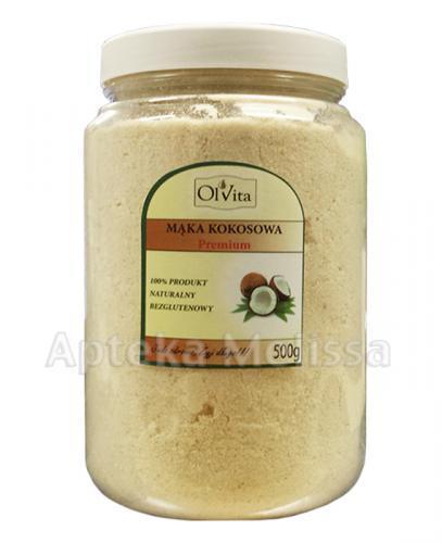 OLVITA Mąka kokosowa Premium - 500 g - Apteka internetowa Melissa