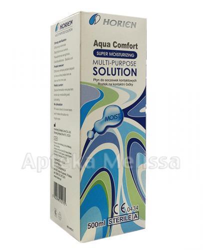HORIEN AQUA COMFORT Płyn do soczewek - 500 ml