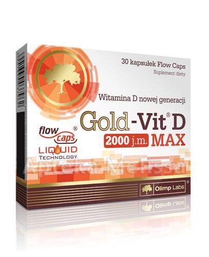 OLIMP GOLD-VIT D MAX 2000 IU - 30 kaps.