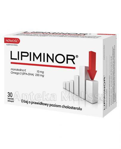 LIPIMINOR - 30 kaps. - Apteka internetowa Melissa