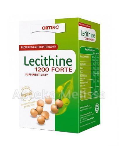 LECITHINE 1200 FORTE - 48 kaps. - Apteka internetowa Melissa