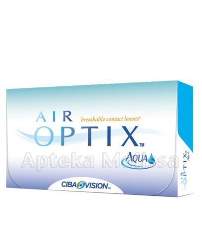 AIR OPTIX AQUA Soczewki kontaktowe -0,25 - 6 szt. - Apteka internetowa Melissa