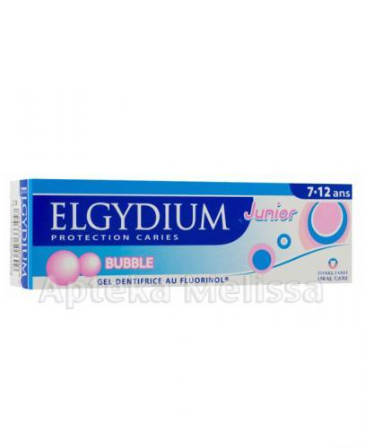 ELGYDIUM JUNIOR BUBBLE Pasta do zębów 7-12 lat - 50 ml - Apteka internetowa Melissa