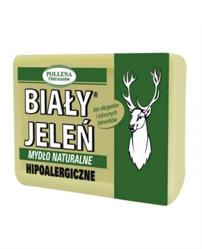 BIAŁY JELEŃ Hipoalergiczne mydło w kartoniku - 100g - Apteka internetowa Melissa