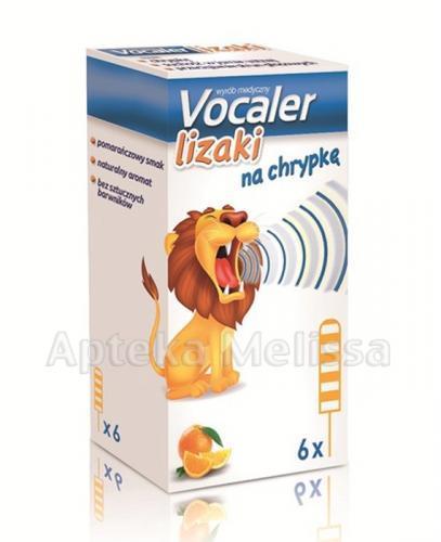VOCALER Lizaki - 6 szt.  - Apteka internetowa Melissa