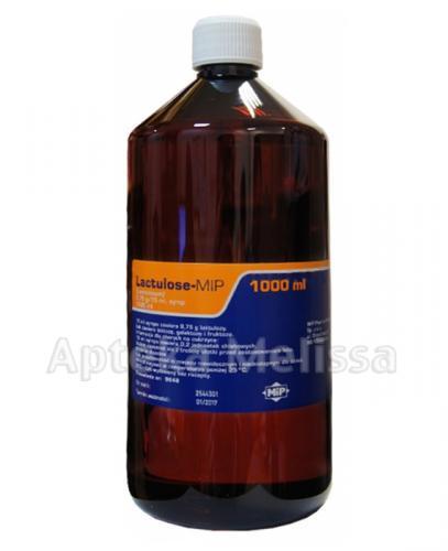 LACUTLOSE-MIP Syrop 9,75 g/15 ml - 1000 ml - Apteka internetowa Melissa