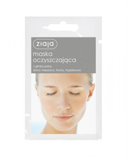 ZIAJA MASKI Z GLINKAMI Maska oczyszczająca - 7 ml - Apteka internetowa Melissa