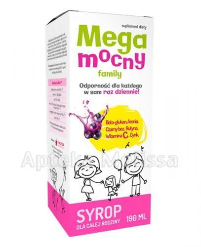 MEGAMOCNY FAMILY Syrop dla całej rodziny - 190 ml