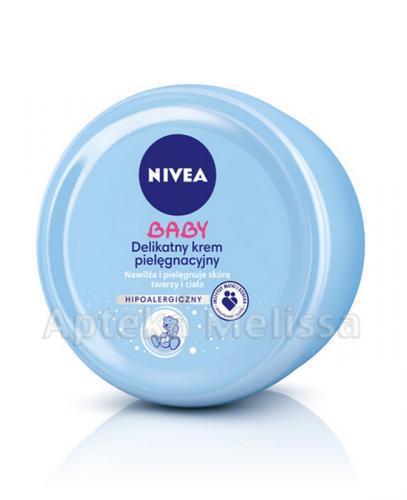 NIVEA BABY Delikatny krem pielęgnacyjny - 200 ml