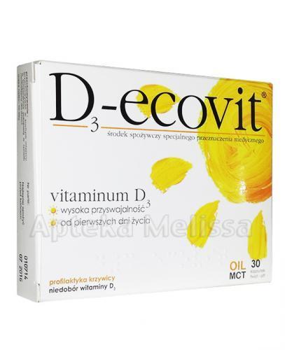 D3-ECOVIT twist-off - 30 kaps. - Apteka internetowa Melissa