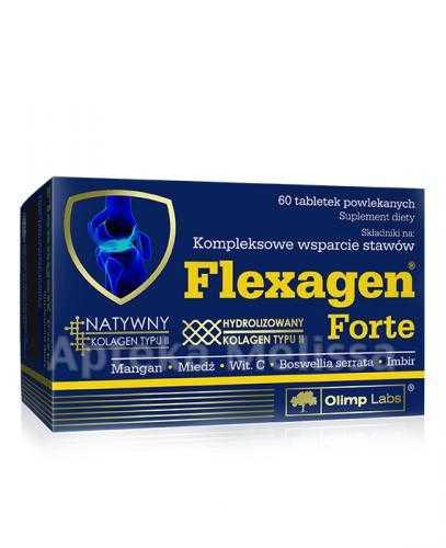 OLIMP FLEXAGEN FORTE Kompleksowe wsparcie stawów - 60 tabl.