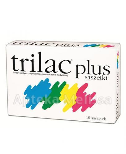 TRILAC PLUS - 10 sasz. - Apteka internetowa Melissa