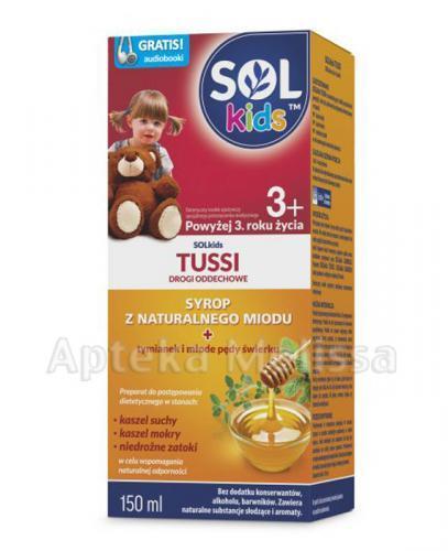 SOLKIDS TUSSI Syrop z naturalnego miodu powyżej 3 roku życia - 150 ml - Apteka internetowa Melissa