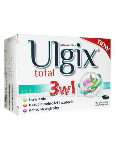 ULGIX TOTAL - 30 kaps.  – Apteka internetowa Melissa