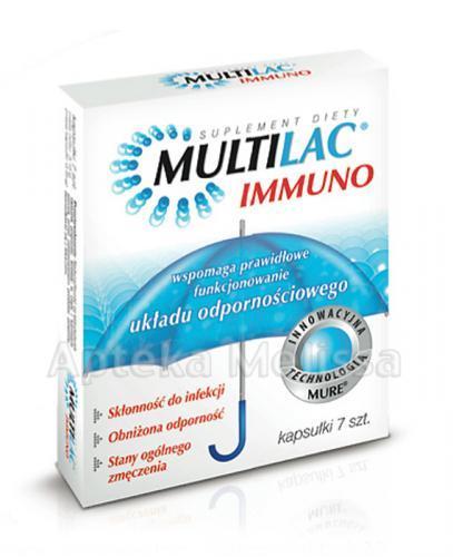 MULTILAC IMMUNO - 7 kaps.  - Apteka internetowa Melissa
